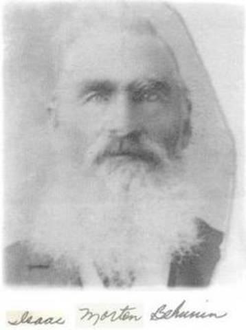 Zion's First Settler 1861