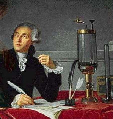 Antoine Lavoisier (France)