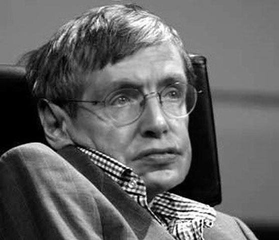 Stephen Hawking (1942 Oxford, Inglaterra)