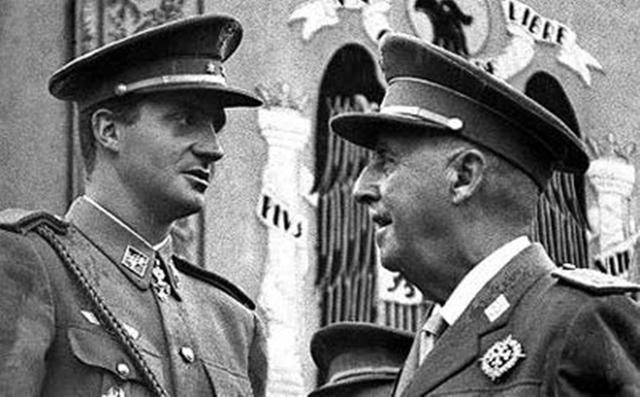(Zurita) Franco designa Juan Carlos de Borbon succesor