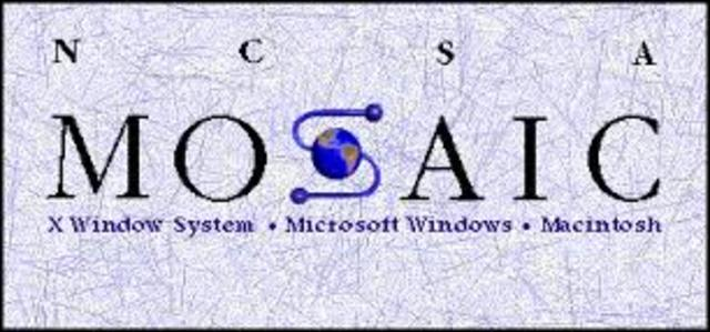 Aparece Mosaic, el primer navegador de Web de base grafica.