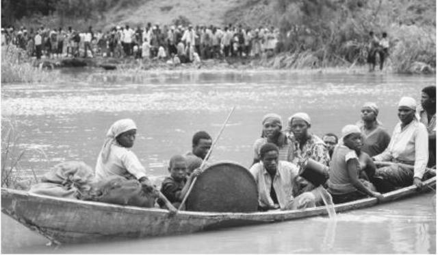 The Tutsi Monarchy abolished