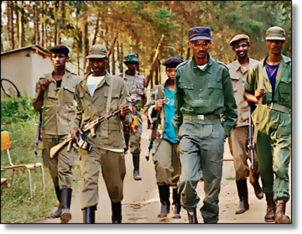 RPF Invade Rwanda