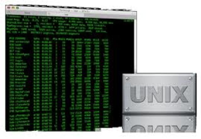 Uso de las computadoras en UNIX