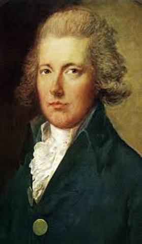 William Pitt is the new Prime Minister of Britan