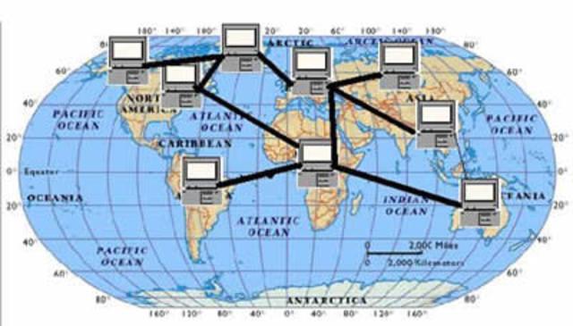 ARPANET SE HACE INTERNACIONAL