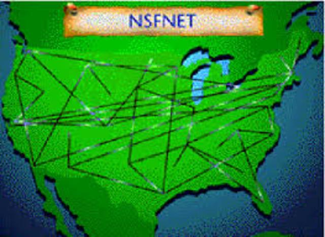 Creación de NSFNET