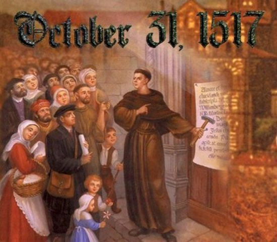 Posting of 95 Theses