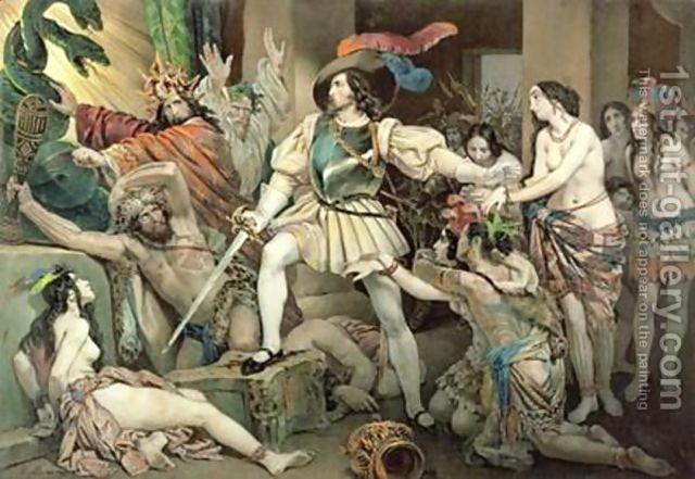 Cortes defeat of Aztecs