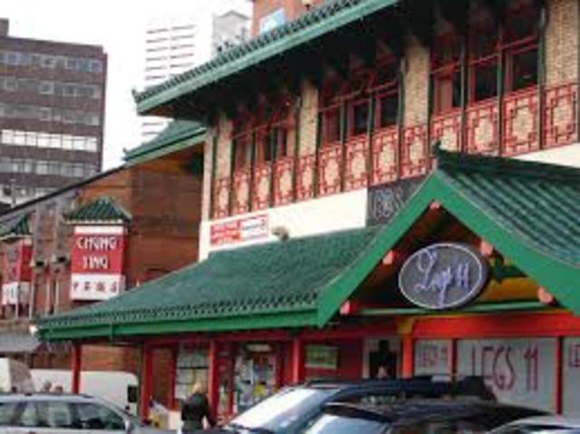 Development of mant Chinatown