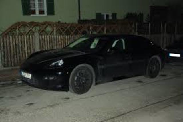 Pena's car