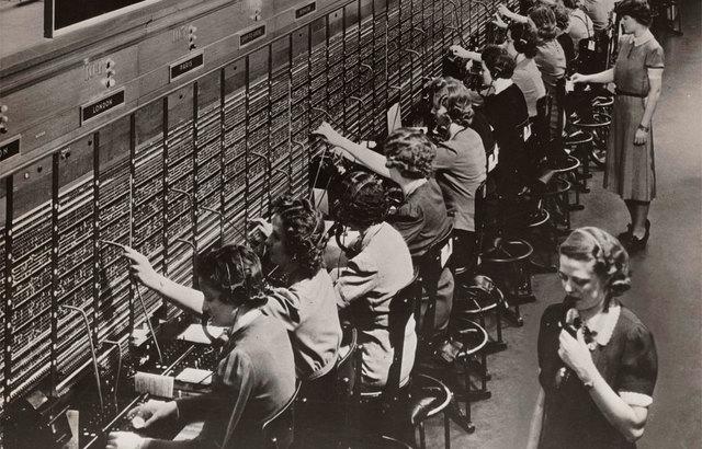 Primer central Teléfonica