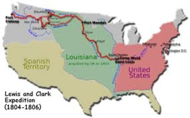 Lewis and clark expedition.
