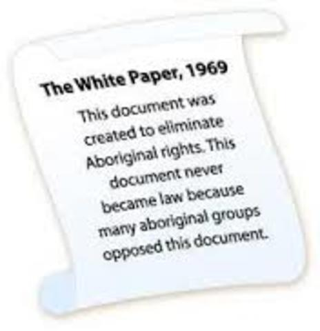White Paper And Jean Chretian