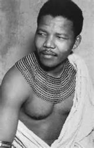Date of birth of Mandela