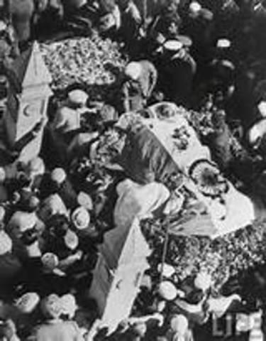 Gandhi was murdered by a hindu extremist.