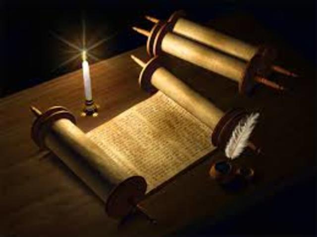 Redaccion del documento en la antiguedad