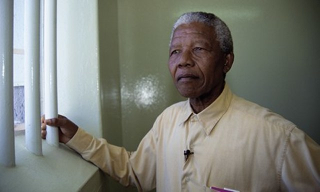 After a trial of 4 years, Mandela  was sentenced to life prison and was sent to prison.