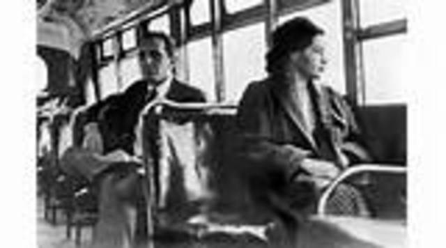 Montgomery, Alabama: Rosa Parks refused to give up her seat on a bus and was arrested