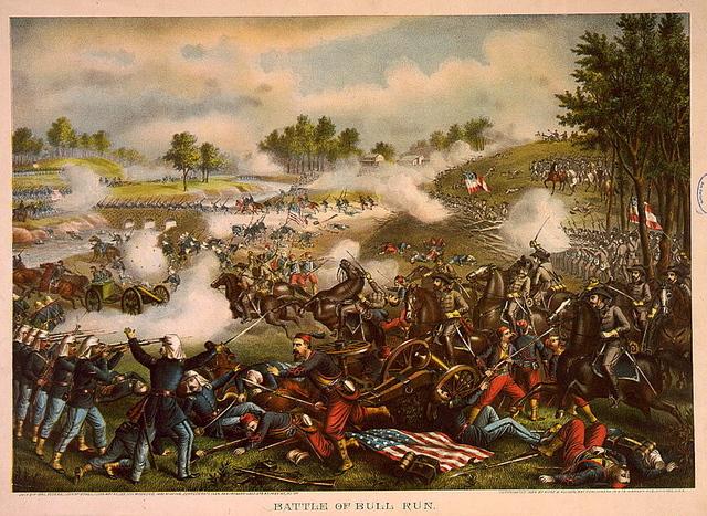 First Battle of Bull Run begins