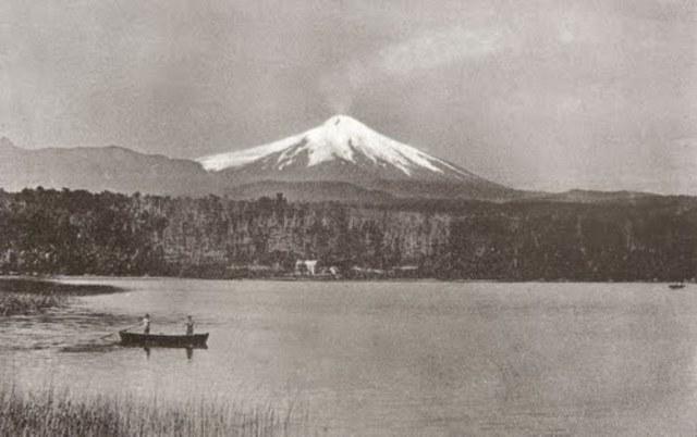 Primera erupción del Volcán Calbuco registrada