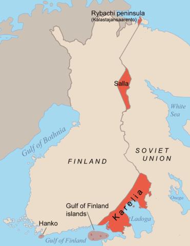 La Unió Soviètica i Finlàndia signen un tractat de pau que posa fi a la Guerra d'Hivern