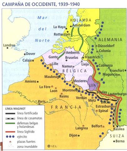 Els alemanys entren a París