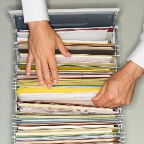 Documentos en papel