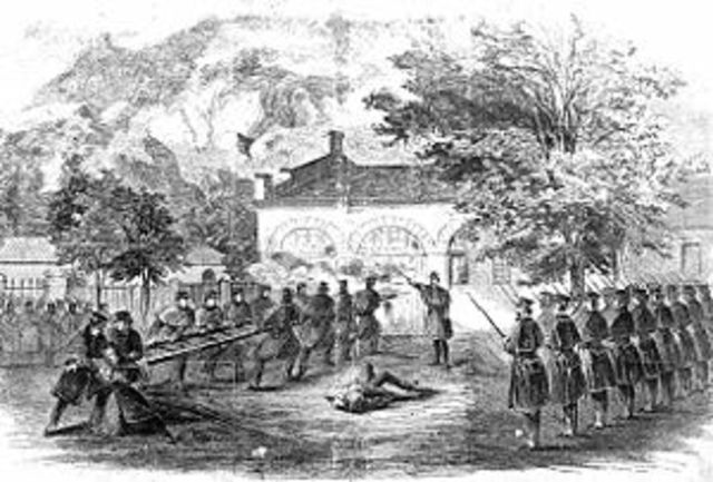 Raid on Harper's Ferry began