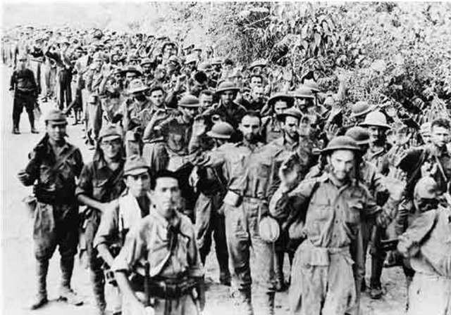The Philippines surrender