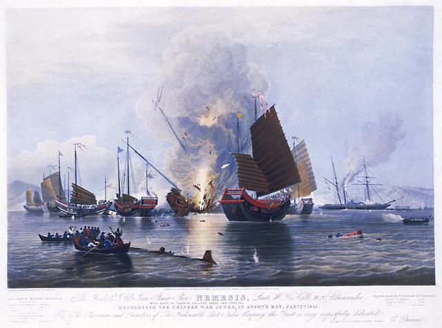 1st opium war between China and England
