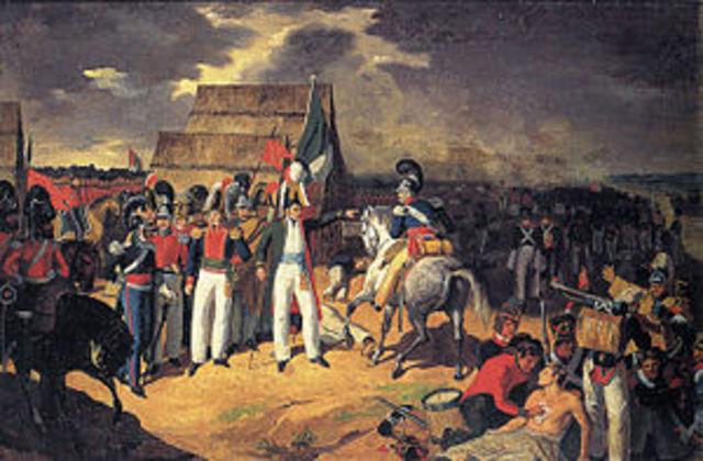Los intentos de reconquista española sobre Mexico