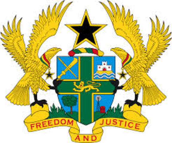 Ghana is first African nation to gain independence