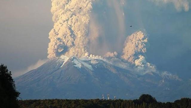 Sexta erupción del Volcán Calbuco registrada