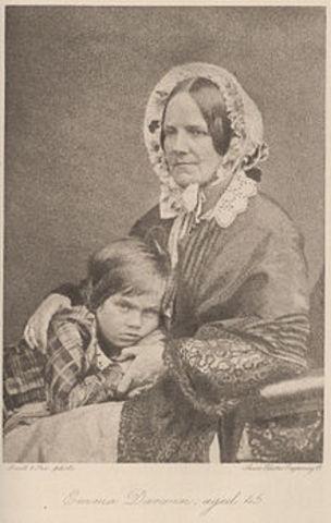 Birth of Leonard Darwin