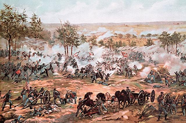 Battle of Gettysburg begins