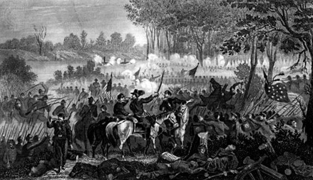 Battle of Shiloh begins