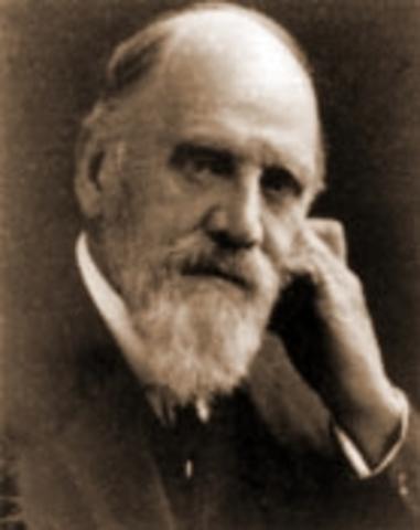 Birth of Francis Darwin