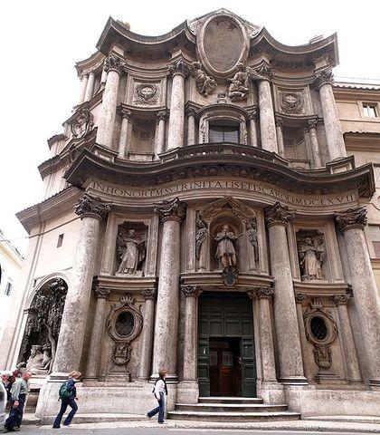 Avvio: Chiesa di San Carlo alle Quattro Fontane
