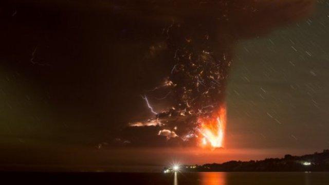Segunda erupción del Volcán Calbuco