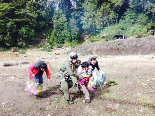 Rescate en Lago Chapo