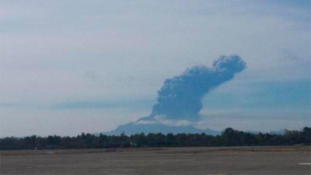 Tercera erupción del Volcán Calbuco