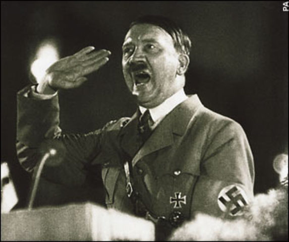 Hitler becomes the head of the Nazi Party