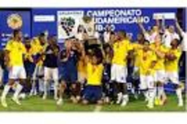 Colombia es campeón sin ningún gol