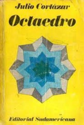Aparece el libro de cuentos Octaedro (Sudamericana)