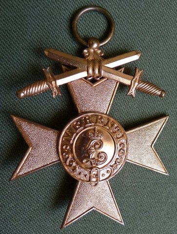 Баварский Крест за военные заслуги 3-го класса с мечами
