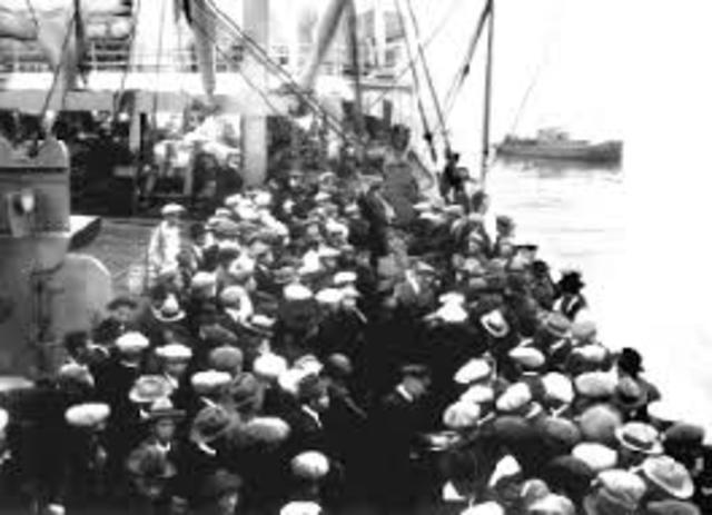 emigration of chines of America