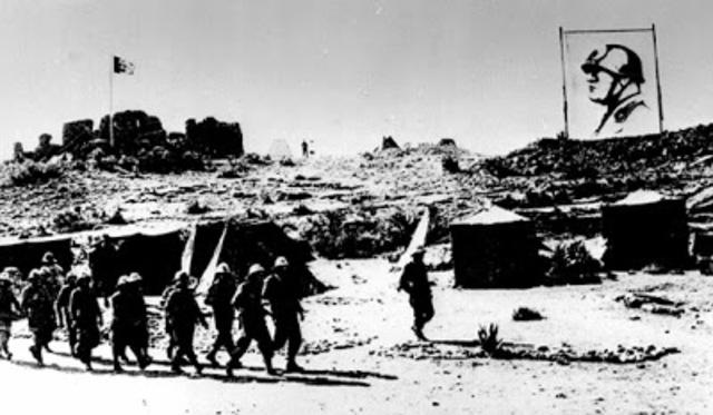 Expansió de Mussolini a l'Àfrica
