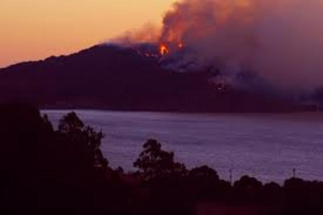 Angel Island Immigration Center Fire/Closes Down