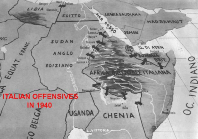Invasió italiana de la costa Africana